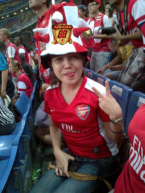 arsenal suporter in malaysia
