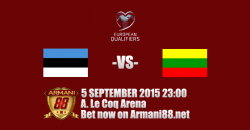 Prediksi Estonia vs Lithuania 5 September 2015