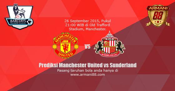 Prediksi Manchester United vs Sunderland 26 September 2015