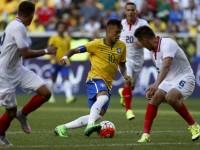 Neymar Tak Terima Jadi Pemain Cadangan Brasil