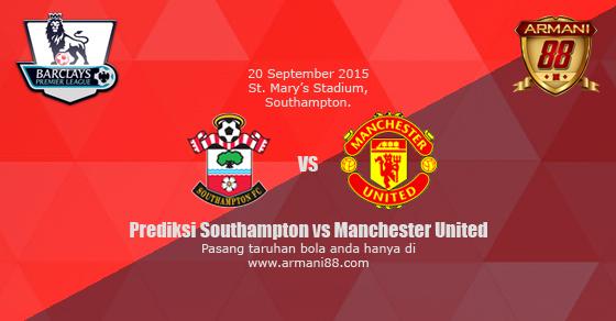 Prediksi Southampton vs Manchester United 20 September 2015