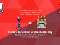 Prediksi Tottenham vs Manchester City 26 September 2015
