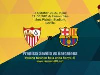 Prediksi Sevilla vs Barcelona 3 Oktober 2015