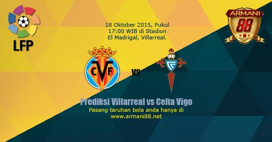 Prediksi Villarreal vs Celta Vigo 18 September 2015