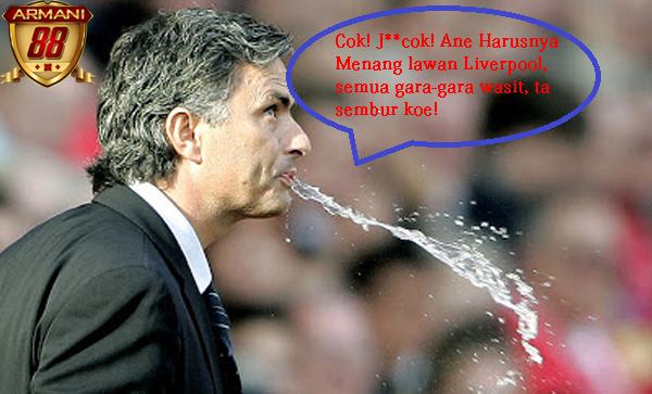 Jose mourinho buang air