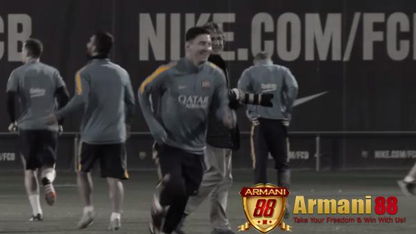 Lionel Messi sudah latihan kembali