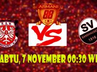 Prediksi FSV Frankfurt VS Sandhausen 7 Nov