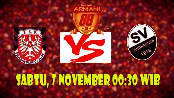 Prediksi FSV-Frankfurt vs SV-Sandhausen-7-November-2015