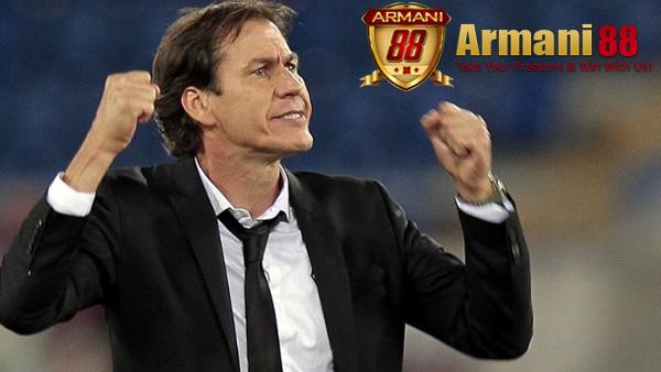 Rudi Garcia AS Roma senang