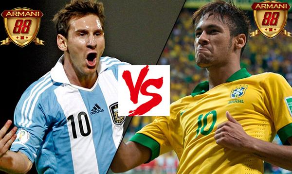 prediksi Argentina VS Brasil