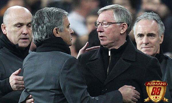 Jose Mourinho dan alex ferguson