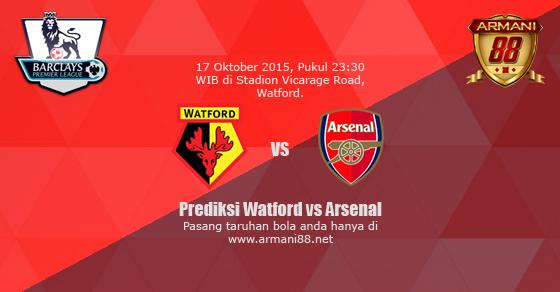 Prediksi Watford vs Arsenal 17 Oktober 2015
