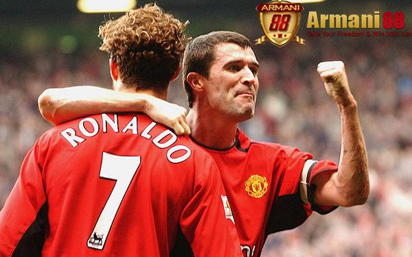 Cristiano Ronaldo dan Roy Keane