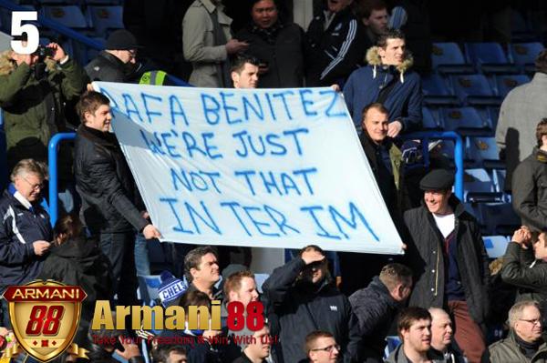 Rafa Benitez dari suporter