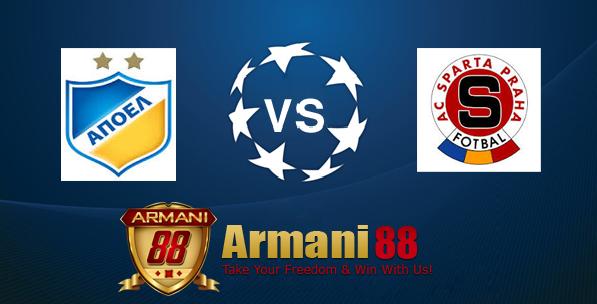 Prediksi APOEL Nicosia VS Sparta Praha 11 Desember 2015