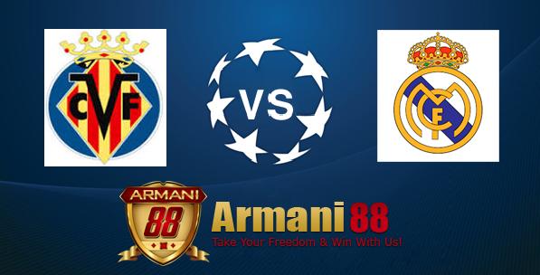 Prediksi Villarreal VS Real Madrid 14 Desember 2015